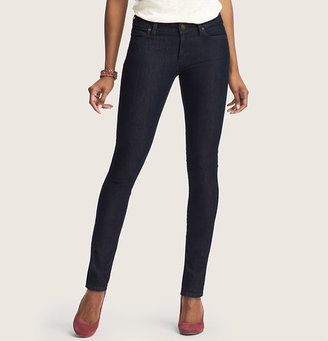 LOFT Tall Curvy Skinny Jeans in Rinse Wash