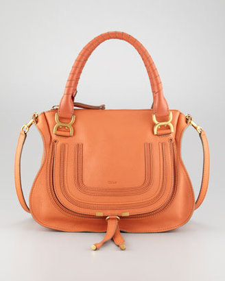 Chloé Marcie Medium Shoulder Bag, Suntan