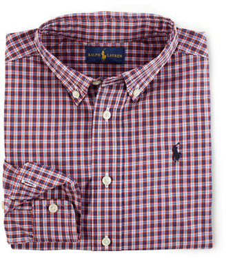 Ralph Lauren Boys 2-7 Blake Twill Plaid Shirt