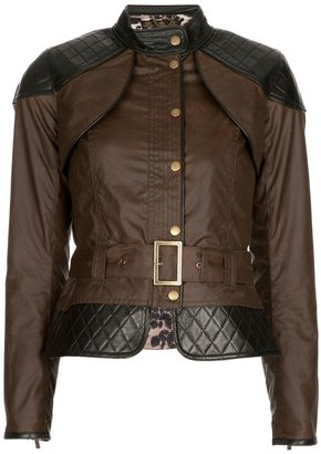 Temperley London Barbour Gold Label By Somerset biker jacket