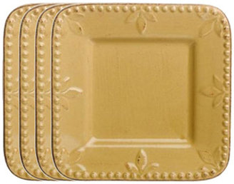 "Signature Housewares Sorrento 6"" Square Bread and Butter Plate (Set of 6)"