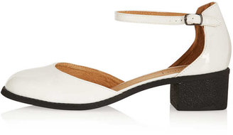 Topshop MOSES Ankle Strap Mid Heels