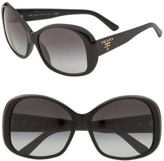 Prada 'New Heritage' Oversized Sunglasses