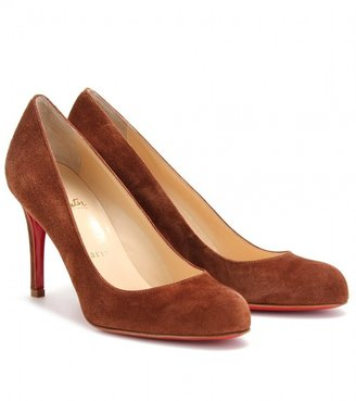 Christian Louboutin SIMPLE 85 SUEDE PUMPS