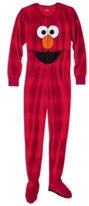 Sesame Street Women's Footie Pajama - Elmo