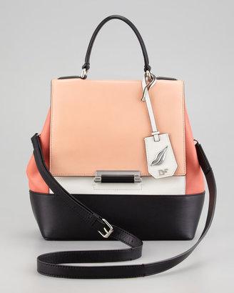 Diane von Furstenberg 440 Small Colorblock Satchel Bag