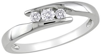 Diamond 1/5 CT. T.W. Cocktail Ring - Silver
