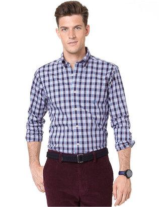 Nautica Shirt, Long Sleeve Multi Plaid Shirt
