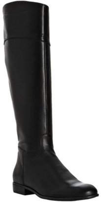 Ciao Bella black leather 'Tori' side zip riding boot