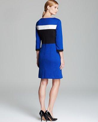 Jones New York Collection Color Block Dress