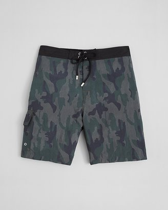 John Varvatos Collection Camouflage Swim Trunks