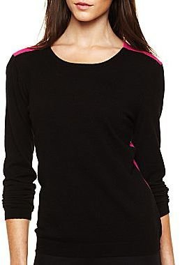 Nicole Miller nicole by Colorblock Sweater