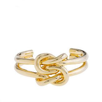J.Crew Knot bracelet