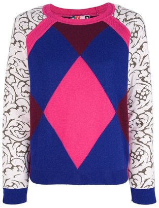 MSGM patterned sweater