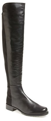 Women's Stuart Weitzman 5050 Over The Knee Leather Boot $655 thestylecure.com