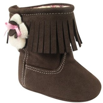 Natural Steps Infant Girl's Lil Fringe Boot - Assorted Colors