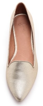 Joie Daydreaming Metallic Loafers