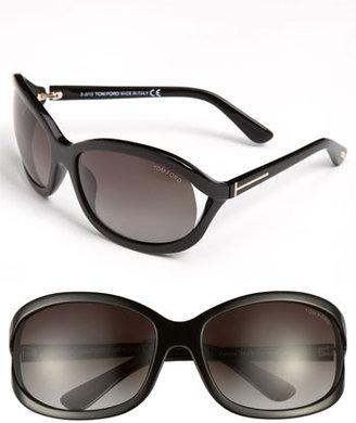 Tom Ford 'Vivienne' 61mm Sunglasses Shiny Black One Size