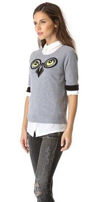Milly Winston Intarsia Owl Sweater