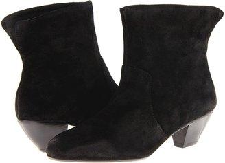 Rebecca Minkoff Coco (Black Waxy Suede) - Footwear