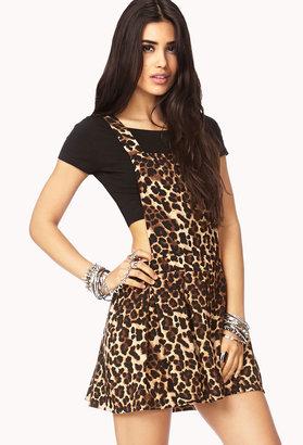 Forever 21 Spot-On Overall Dress