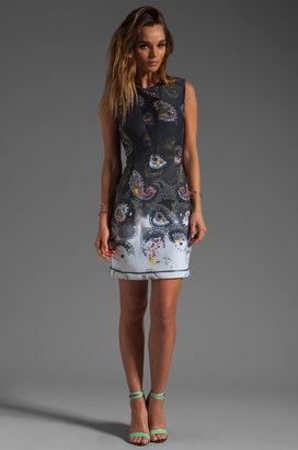 Cynthia Rowley Bonded Sleeveless Tank Dress