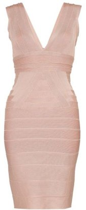 Herve Leger Martina Bandage Dress