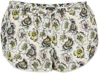 Topshop Vintage Pansy PJ Shorts