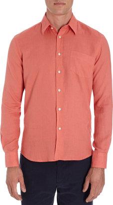 Vilebrequin Button-Front Linen Shirt