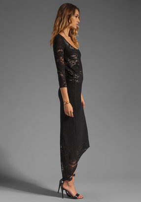 Jens Pirate Booty Restless Heart Maxi Dress in Lingerie Lace