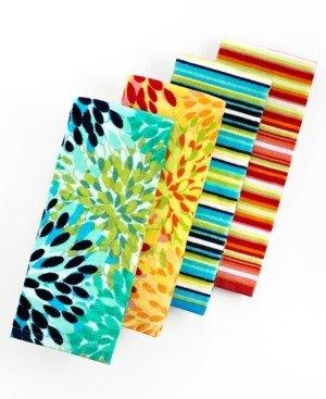 Fiesta Kitchen Stripe Kitchen Towel