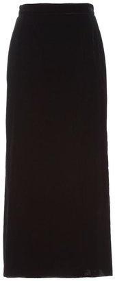 Krizia Poi... Vintage velvet skirt