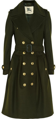 Burberry Wool and cashmere-blend trench coat