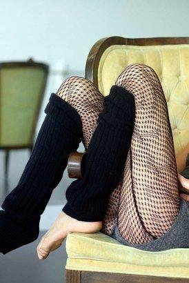 Nightcap Clothing Fishnet Tights in Black