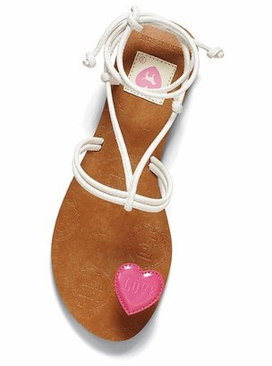 Victoria's Secret Pink® Heart thong sandal
