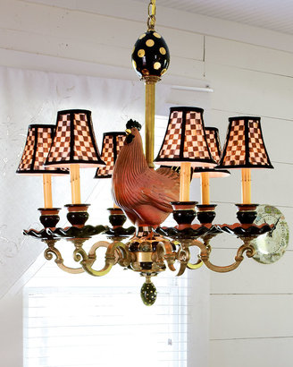 Mackenzie Childs MacKenzie-Childs Rooster 6-Light Chandelier