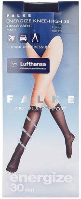 Falke Energize Dark Blue 30 Denier Knee-high Socks