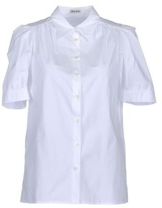 Miu Miu Short sleeve shirt