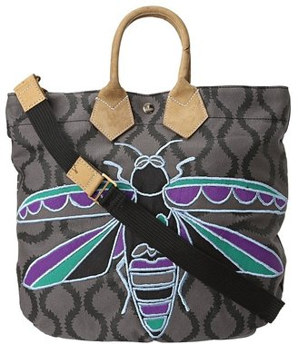 Vivienne Westwood Small Insect Shopper (Black) - Bags and Luggage