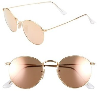 Women's Ray-Ban 'Icon' 50Mm Sunglasses - Brown/pink $175 thestylecure.com