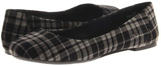 b.ø.c. Batik (Grey Plaid Velvet) - Footwear