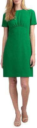 Trina Turk Contract Short-Sleeve Crepe Dress