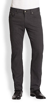 HUGO BOSS Maine Straight-Leg Flannel Pants