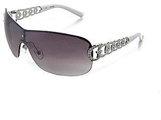 GUESS Rimless Shield Sunglasses