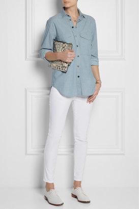 Stella McCartney Simone cropped low-rise skinny jeans