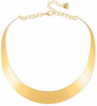 "Robert Lee Morris Soho 14"" Necklace, Half-Moon Collar Necklace"