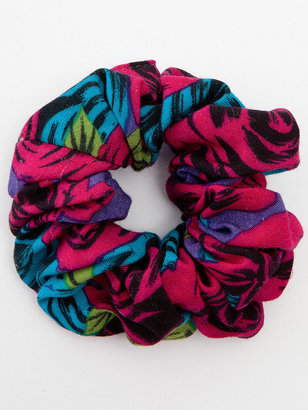 American Apparel California Select Original Abstract Rose Print Scrunchie