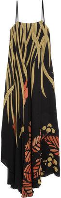 Chloé Printed silk maxi dress