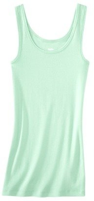 Mossimo Women's Microrib Tank - Assorted Colors