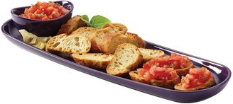 Rachael Ray Baguette Tray with Dipping Cup